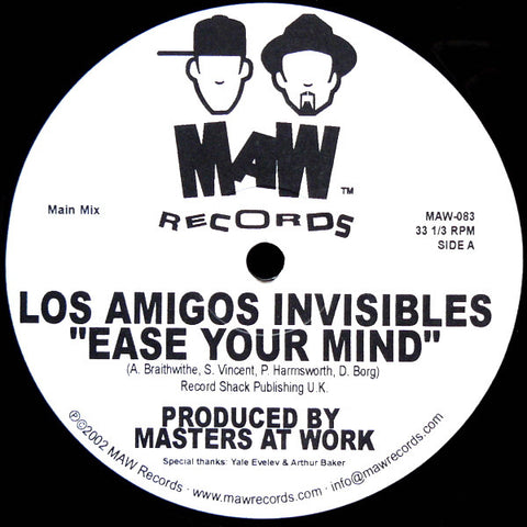 Maw-083 Ease Your Mind - Los Amigos Invisibles