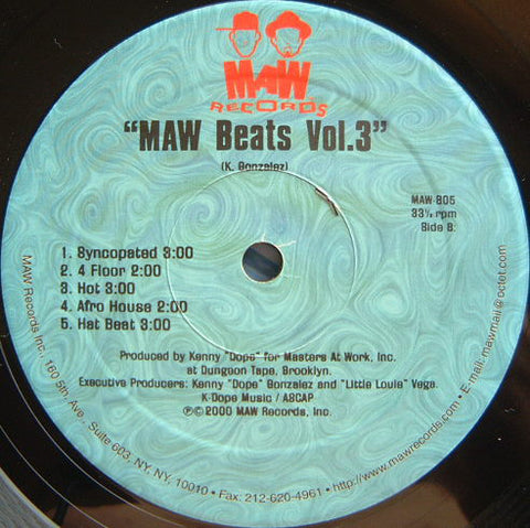 Maw-805 Maw Beats Vol.3