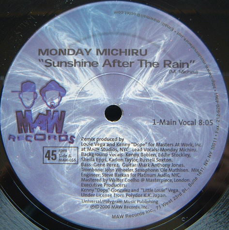 Maw-055 Sunshine After The Rain - Monday Michuru