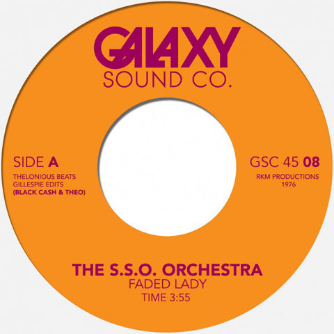 #315 Faded Lady - The S.S.O Orchestra