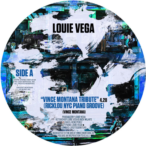 #376 Vince Montana Tribute - Louie Vega (Yellow Vinyl)