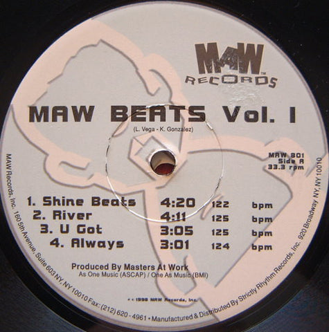 Maw-801 Maw Beats Vol.1 & 2