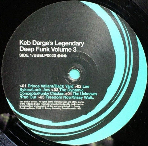 #536 Legendary Deep Funk Vol.3 - Keb Darge