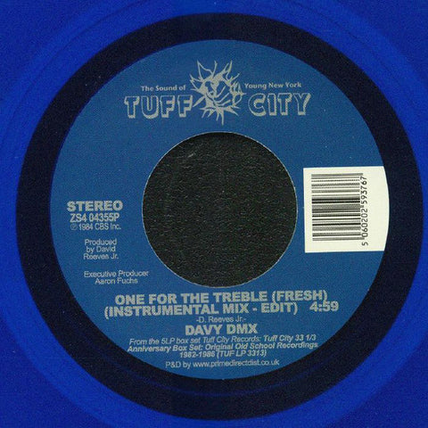#390 One For The Treble - Davy Dmx (Limited Blue Vinyl)
