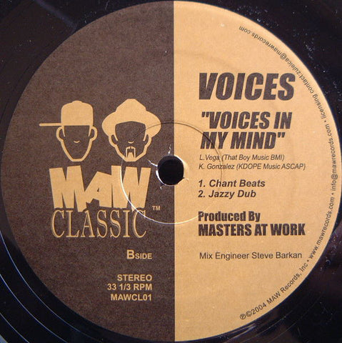 Maw Cl-01 Voices In My Mind - Voices