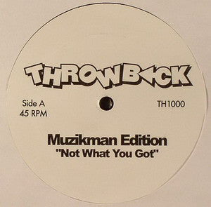 Th-1000 Muzikman Edition - Da Love/Not What You Got