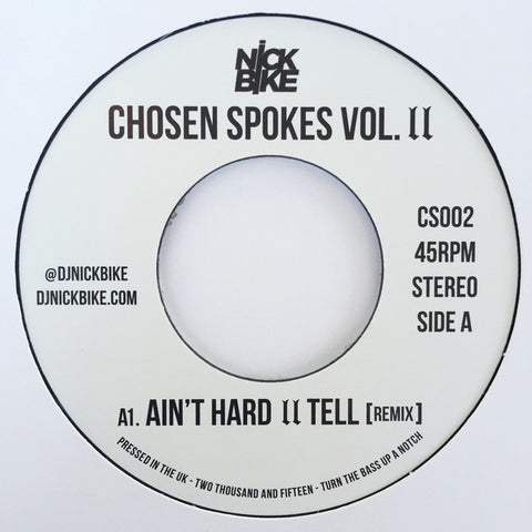 #183 (CS-002) Nick Bike - Chosen Spokes Vol.2 (Nas)