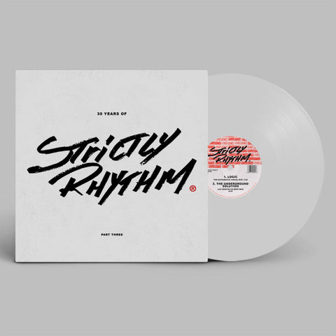 #520 30 Years Of Strictly Rhythm Part Three (White Vinyl)