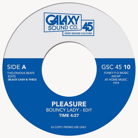 #314 Bouncy Lady - Pleasure/Why Can't People Be Colors Too? - The Whatnauts
