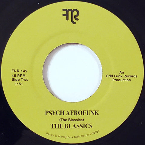 #492 Afro Cookie / Psych Afrofunk - The Blassics