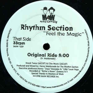 Maw-029 Feel The Magic Rhythm Section