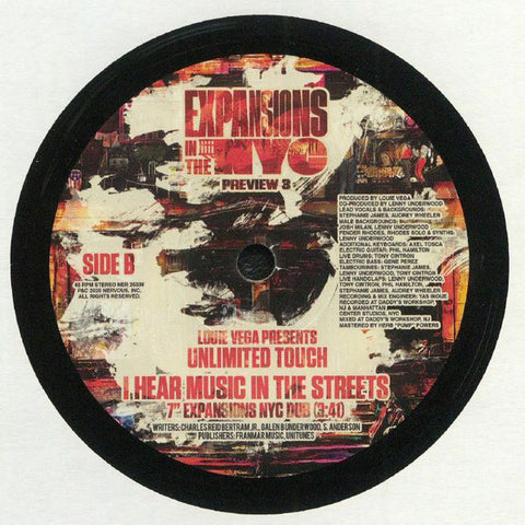 #300 I Hear Music In The Streets - Unlimited Touch - Louie Vega Mix