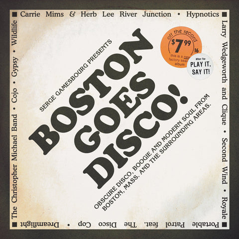 #360 Serge Gamesbourg Presents Boston Goes Disco (Triple Vinyl Plus Bonus 45)