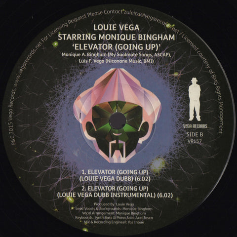 VR - 157 Elevator Louie Vega Starring Monique Bingham