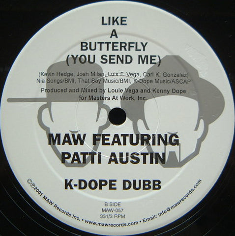 Maw-057 Like A Butterfly Maw Featuring Patti Austin