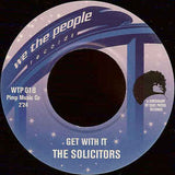 # 58 (WTP-01) The Phillips Bros./The Solicitors - Get With It/Who Stole My Cookie (Re-Issue)