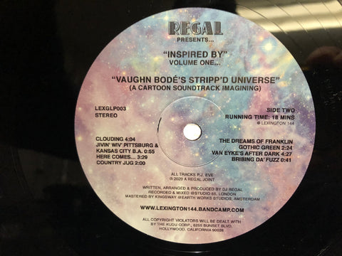#435 Regal Presents Inspired by Vaughn Bodes's Stripp'd Universe