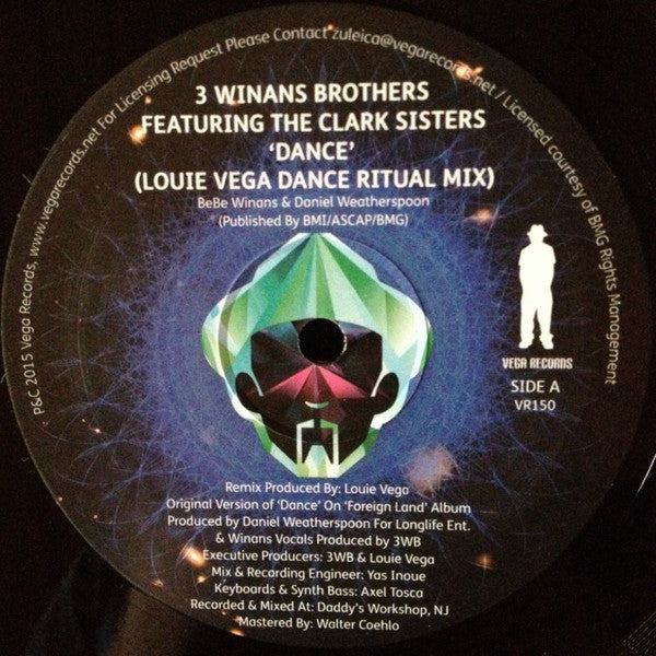 VR - 150 Dance 3 Winans Brothers Featuring The Clark Sisters
