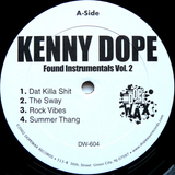 DW-604 Kenny Dope Found Instrumentals Vol.2
