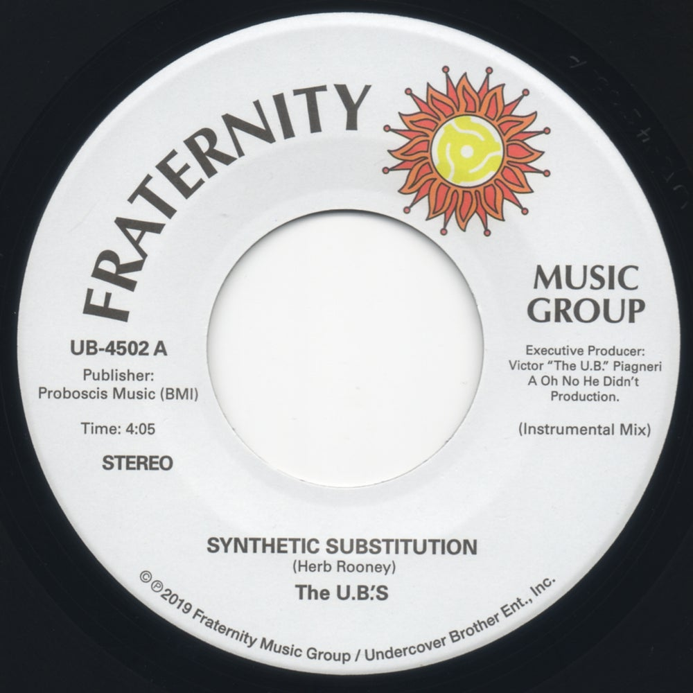 #246 The U.B.'S-Synthetic Substitution