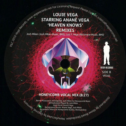 VR - 166 Heaven Knows Louie Vega Starring Anane