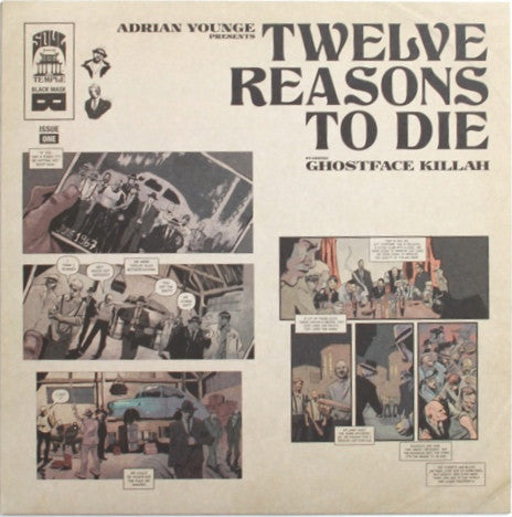 #238 Twelve Reasons To Die - Adrian Younge & Ghostface Killah (Split Color Promo)