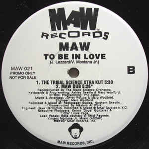 Maw-021 To Be In Love (Black Science Orchestra Remix Maw Feat. India