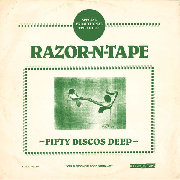 #404 Fifty Discos Deep - Razor-N-Tape (Triple Pack 12 Inch)