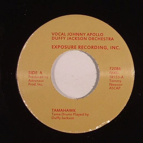 # 92 (TR-153) Johnny Apollo/Duffy Jackson Orchestra-Tamahawk/I Feel Good