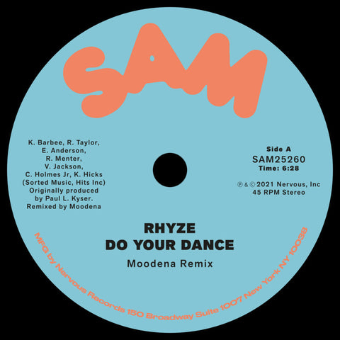 #507 Do Your Dance (Moodena Remix) Rhyze