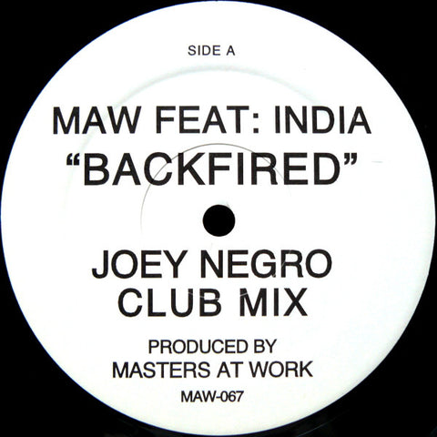 Maw-067 Backfired - Maw Feat. India