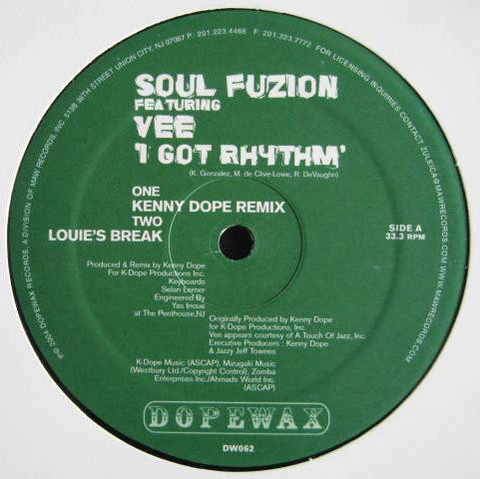 DW-062 Soul Fuzion - I Got Rhythm Remixes