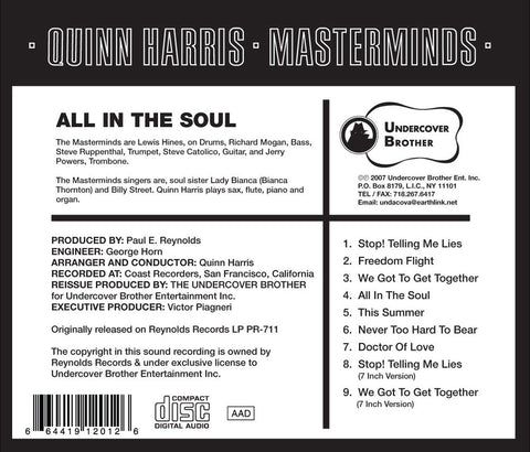 Quinn Harris-All In The Soul