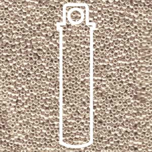 Light Beige Galvanised 11/0 (91072L) - 24 gram Tube