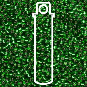 Green Silverlined 11/0 (916) - 25g Tube