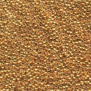 24kt Gold 11/0 (9191) Qty: 3 grams