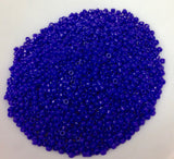Dark Blue Opaque 15/0 (737) Qty: 5 grams
