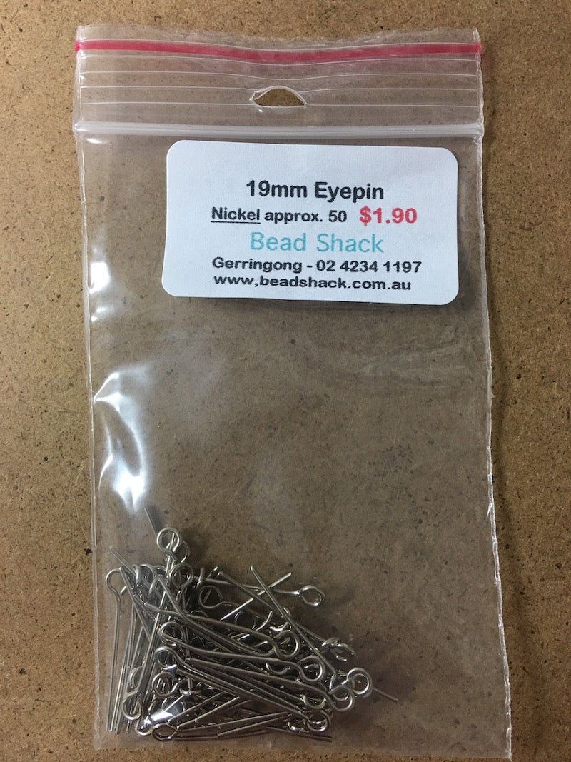19mm Eyepin - Nickel