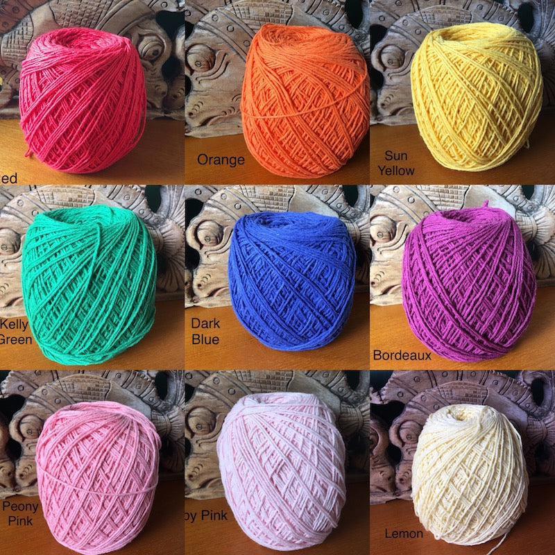 1mm Natural Cotton Rope - Many Colours!