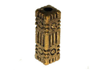 Column 28x9mm Gold Tone Qty: 1