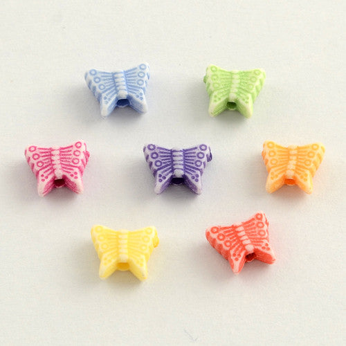 Butterfly Beads Qty: 50