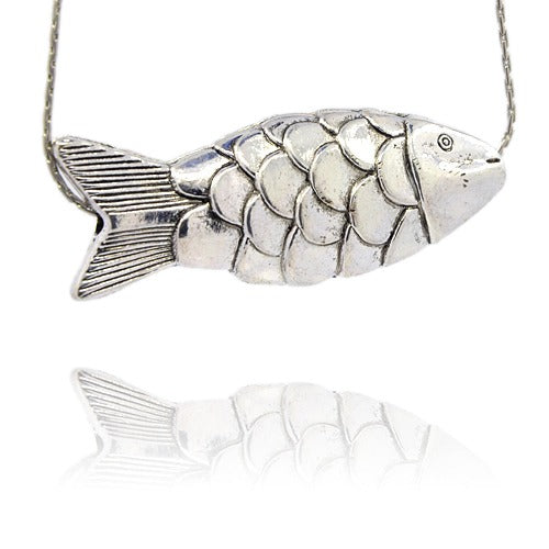 Metal Fish Bead or Pendant