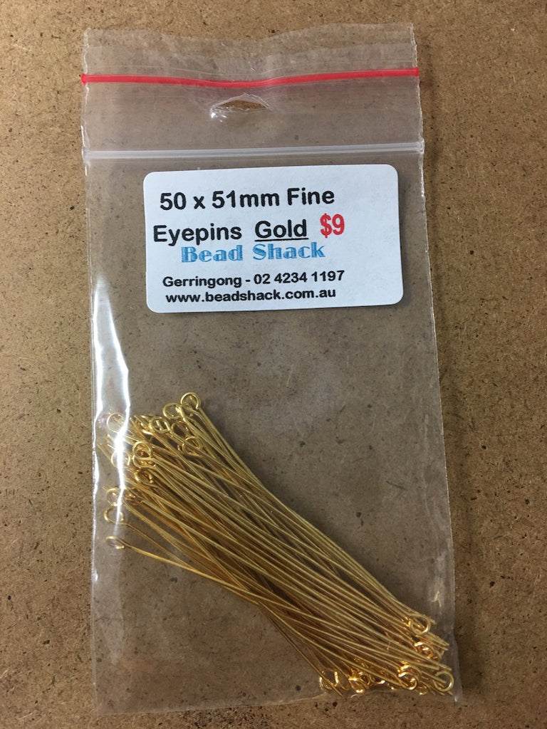 51mm Fine Eyepin - Gold