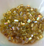 Gold Silverlined Rainbow 2-Cut 6/0 (634) Qty: 10 grams