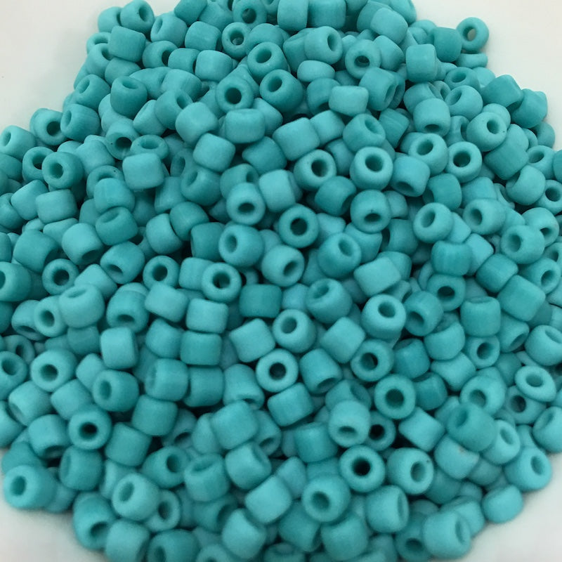Turquoise Opaque Matte 8/0 (740ma) - 20 gram Tubes