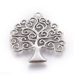Swirling Tree of Life Pendant