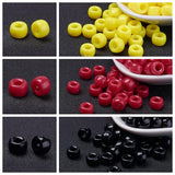 NAIDOC Week 9mm Pony Bead Supplies - Qty: 3,000 Aboriginal Colours