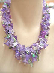 Along the Garden Path Necklace Pattern