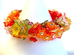 Secret Garden Bracelet Kit - Autumn w. Gold