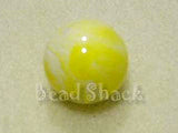 Yellow 16mm Round  Qty: 10